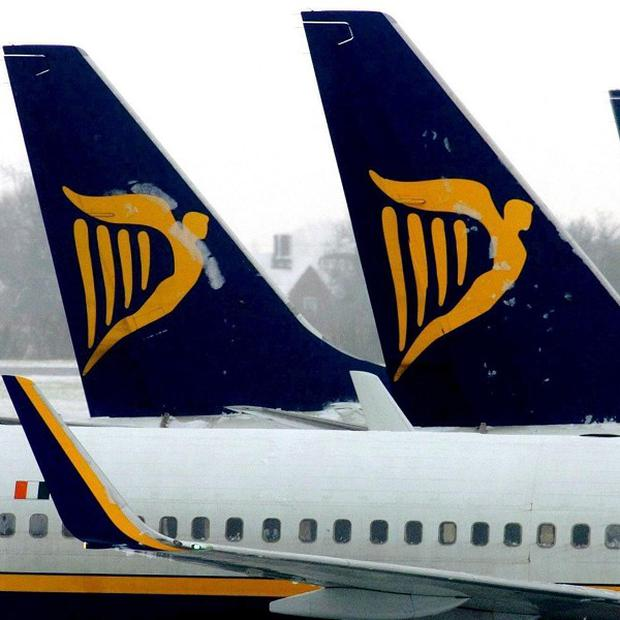 Ryanair is back in profit as traffic grew despite the recession