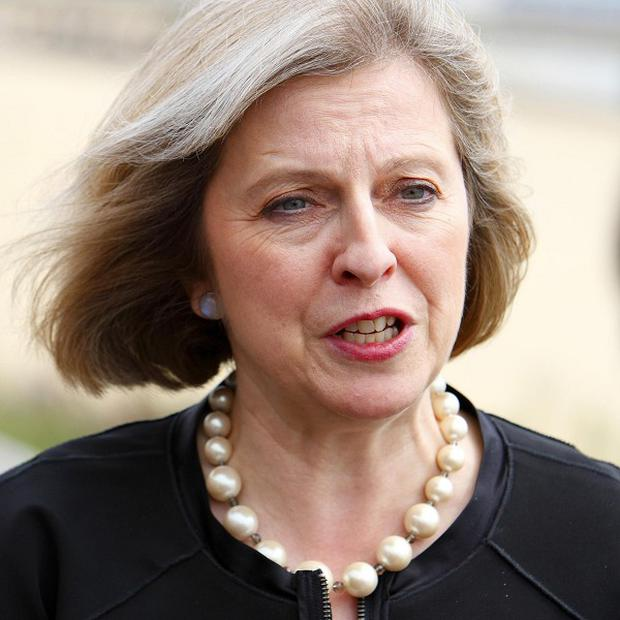 Home Secretary Theresa May branded the Cumbrian shootings 'tragic'
