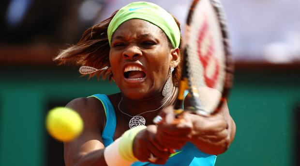 Serena Williams was beaten by Samantha Stosur at the French Open