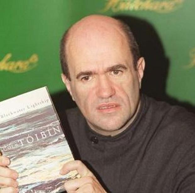 Colm Toibin condemned the construction of the M3 motorway