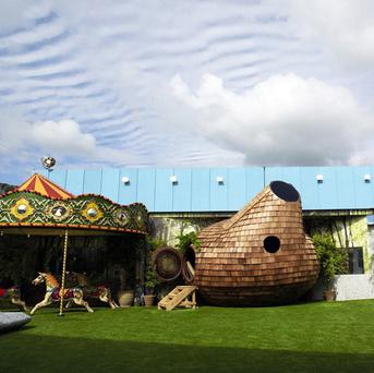 The Big Brother house is inspired by the circus, fairgrounds and fairytales