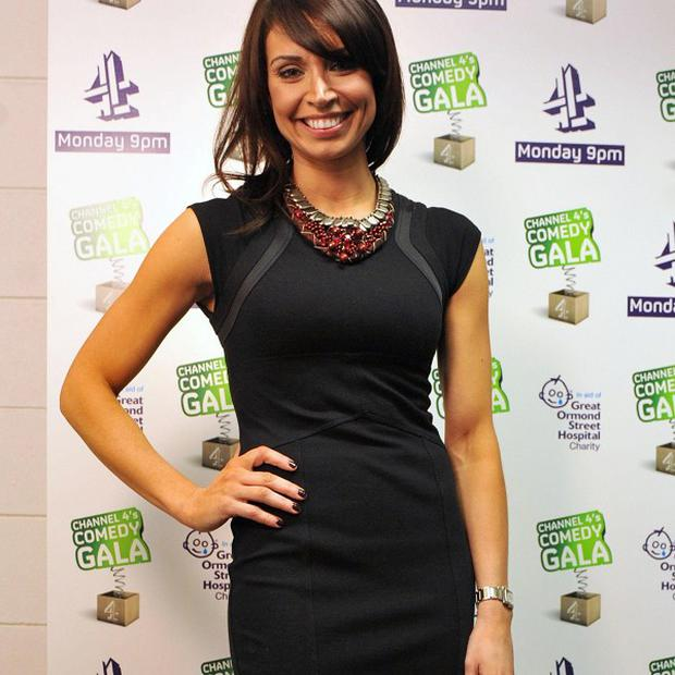 Speculation that Christine Bleakley is about to join ITV has been played down
