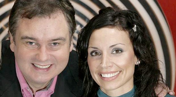 Go for it, girl: Eamonn Holmes believes his good friend Christine Bleakley can be a bit hit on morning television with GMTV