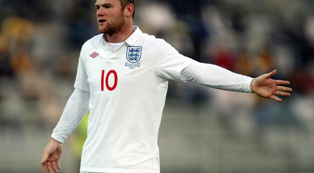 Wayne Rooney was on target in South Africa yesterday