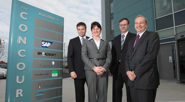 The Innovation Centre (left) and the Concourse Building, officially opened by Enterprise Minister Arlene Foster have been two exceptional developments at the NISP