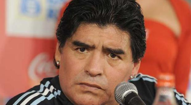 Punters are backing Diego Maradona's Argentina side to lift the World Cup