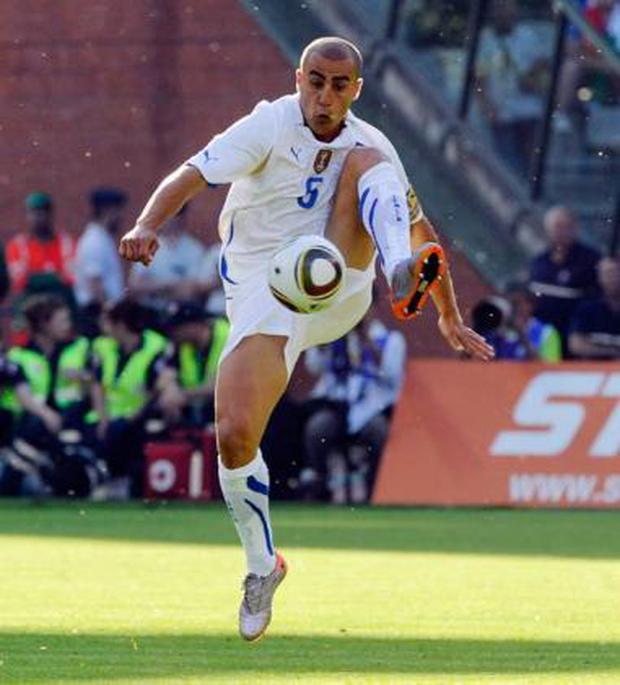 <b>Fabio Cannavaro</b><br/> The Italy captain and star of Nike's fantastic World Cup advert is one of the best defenders taking part in South Africa. At the age of 36, this will be his last major tournament and he'll be looking to help guide his team to glory. The Italians are renowned for their tactical, disciplined style of play, and Cannavaro is key to that. It was also recently announced that he has joined Al-Ahli Dubai, so this will probably be the last you see of him.