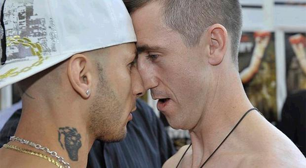 Dungiven boxer Paul McCloskey and Giuseppe Lauri go head to head before the King's Hall battle tonight