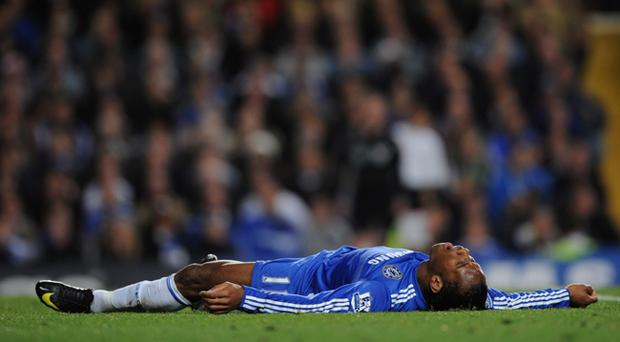 <b>Diving</b><br /> It always happens. Didier Drogba is the king, but watch out for some South Americans desperately trying to steal his crown.