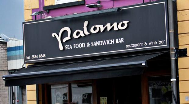 Palomo is a busy bistro at lunchtimes