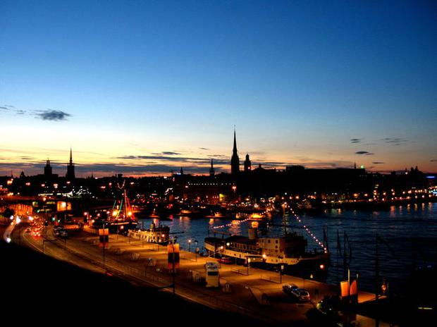 SUMMER NIGHTS: The long Scandinavian daylight hours make this a perfect time to visit Stockholm