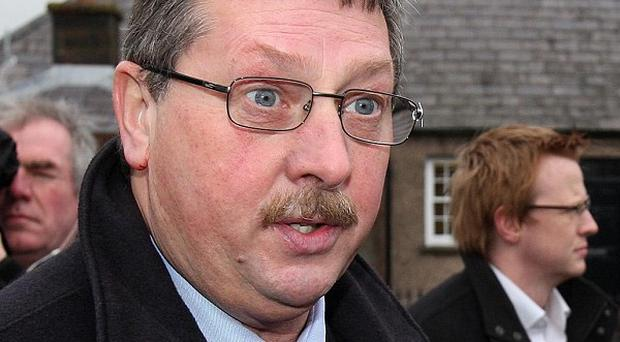 Finance Minister Sammy Wilson warned of the end of public spending's good years