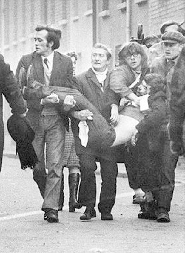 Bloody Sunday. January 1972