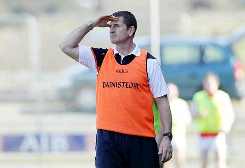 Armagh manager Paddy O'Rourke