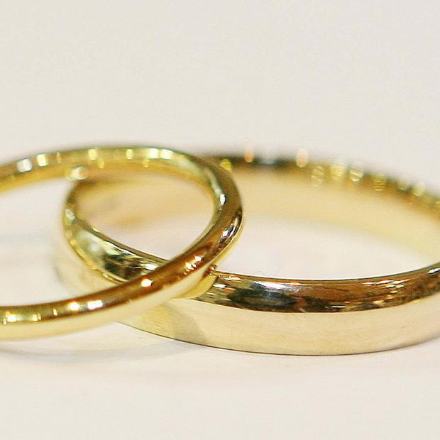 The divorce rate in Northern Ireland is falling, figures show