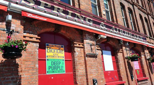 Pacemaker Press 17/6/10 The companies behind a popular chain of well known music venues and bars in Belfast has gone into administration, They include Auntie Annies, Katy Dalys, The Limelight and The Spring & Airbrake Pic Colm Lenaghan/Pacemaker
