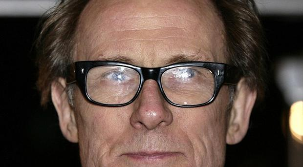 Bill Nighy was impressed with his co-star's bravery