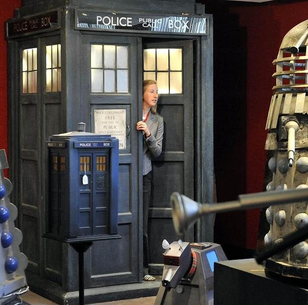 A Doctor Who Tardis is going under the hammer