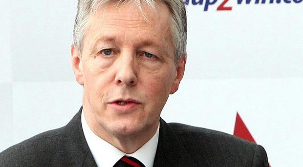 Frontline public services will need to become more efficient, says Peter Robinson