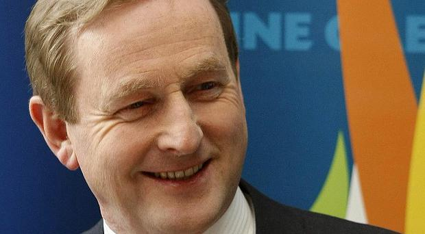 Fine Gael leader Enda Kenny insists he would never go into government with Sinn Fein