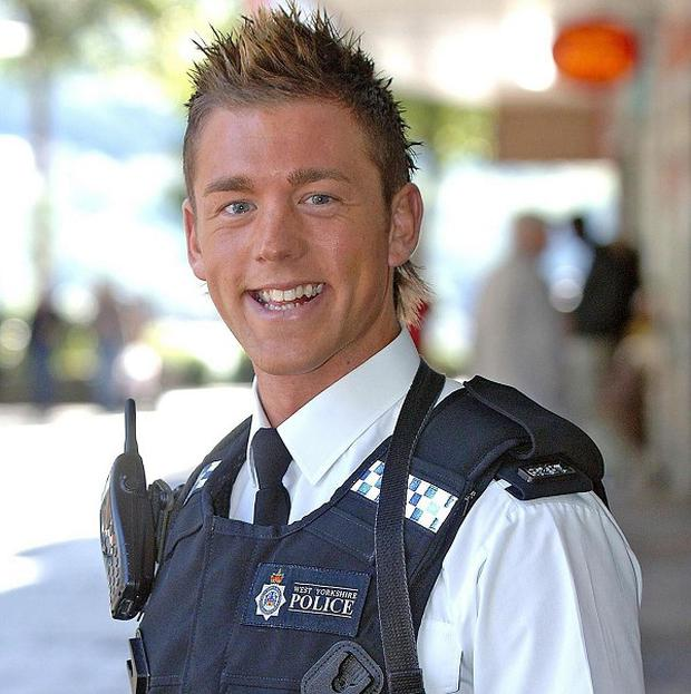 Pc Mark Carter, a former Mr Gay UK, is due in court charged with a number of sex offences