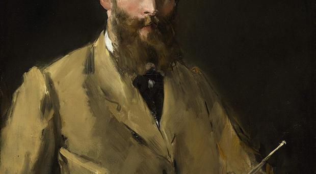 A self portrait by Edouard Manet has sold for a record price of more than 22 million pounds