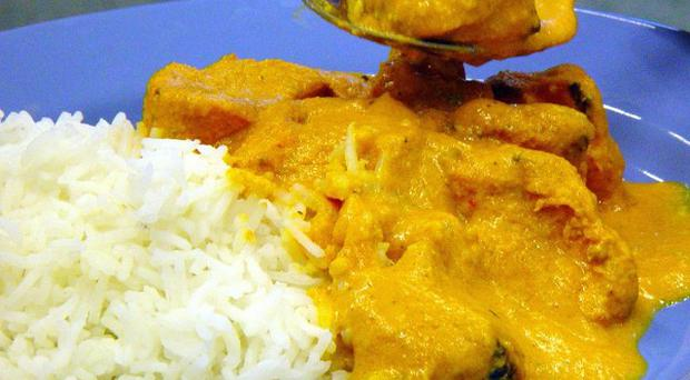 A town in southern England has been crowned the surprise curry house capital of the UK