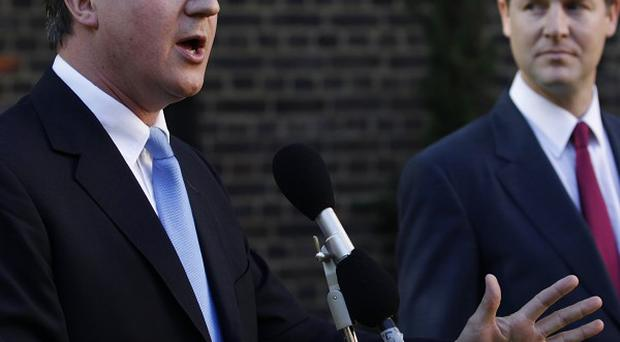 David Cameron and Nick Clegg have written to public sector workers asking for opinions on spending curbs