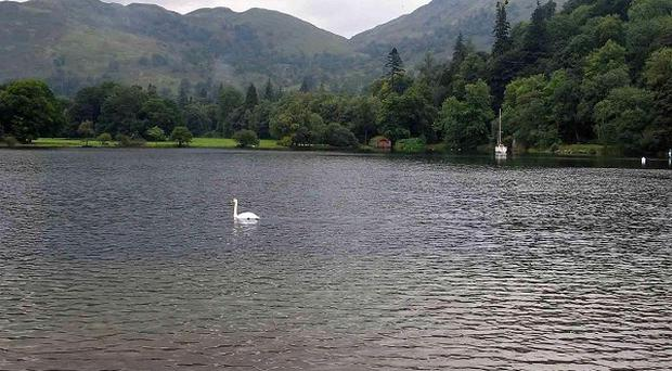 A canoeist is feared drowned after failing to resurface in Ullswater lake