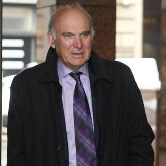 Business Secretary Vince Cable says VAT claims were to 'score points'