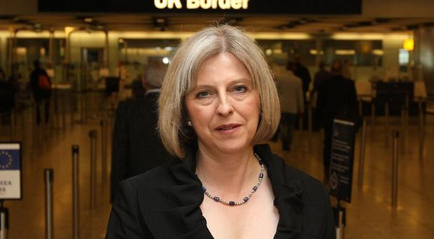 Home Secretary Theresa May is due to formally announce the UK's first immigration cap