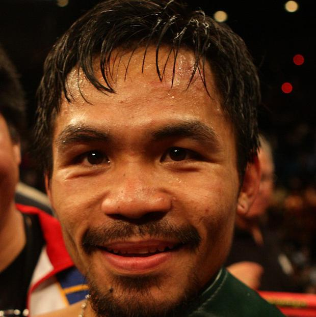 Boxer Manny Pacquiao - seen here after beating Ricky Hatton - has entered congress in the Philippines