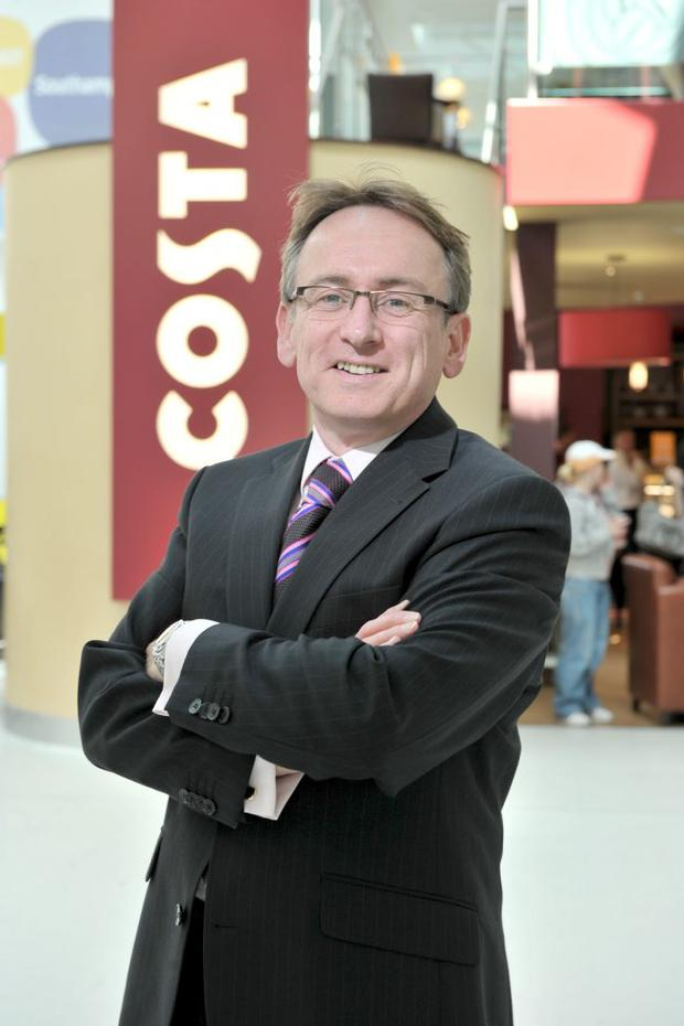 Mark Hughes, managing director of McNicholl Hughes, which is currently fitting out six cafes for Costa