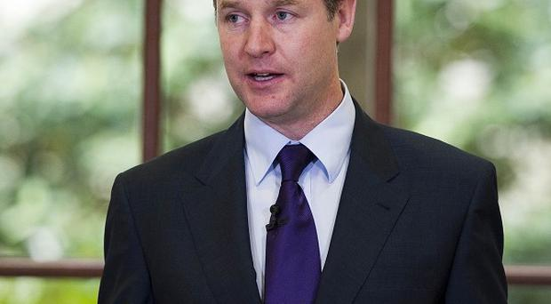 Nick Clegg said the Regional Growth Fund would help ensure 'no region or community gets left behind'