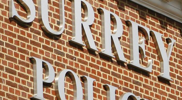 A man is due to appear in court over an alleged bank siege in west London, Surrey Police said