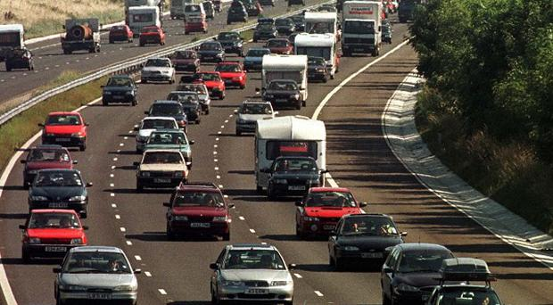 Half of all crashes occur on a tenth of Britain's road network, acording to a report