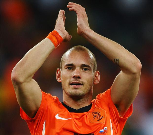 Wesley Sneijder has been a key player for the Netherlands in the World Cup