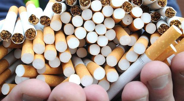 A huge consignment of cigarettes was seized by customs staff in south Armagh