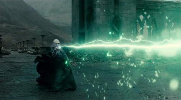 A scene from 'Harry Potter and the Deathly Hallows 1'