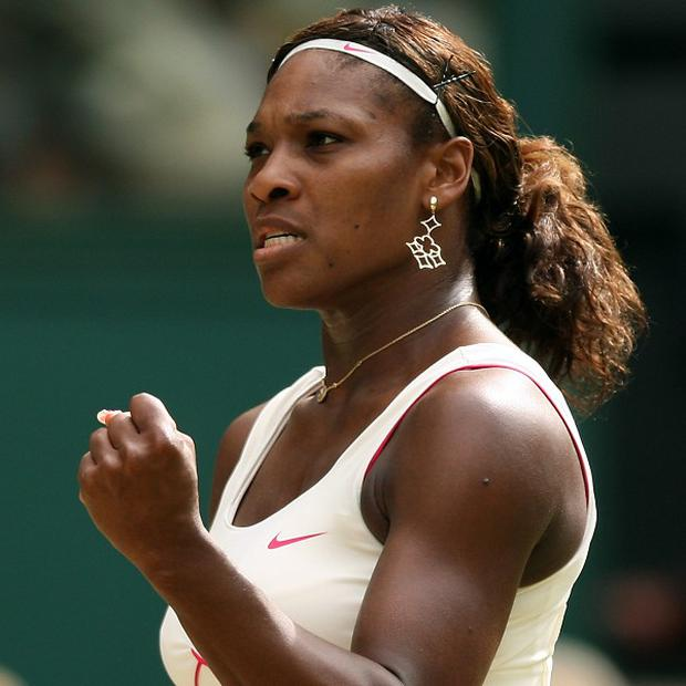 Serena Williams is aiming for her fourth Wimbledon singles title