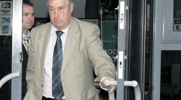 On the ropes: Raymond Kennedy (above) and David Martin are coming under pressure to resign after the DCAL findings