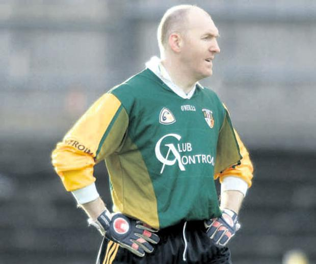 Safe hands: Vastly experienced goalkeeper Sean McGreevy