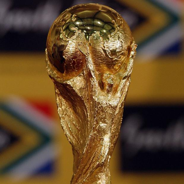 Fans worldwide have fashioned replicas of the World Cup trophy out of everything from papier mache to plastic, but a lawbreaker in Colombia gets top prize for most original material: cocaine