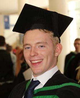 University of Ulster graduations. Waterfront Hall. 2010. Tim Savage