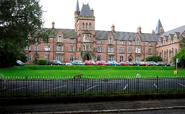 Methodist College in Belfast is one of the schools that has been rated 'fully compliant' for its building plans