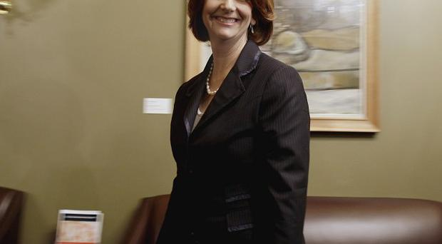 Australian Prime Minister Julia Gillard is to announce a revamp of her party's border protection stance (AP)