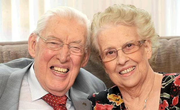Lord and Lady Paisley celebrate at their east Belfast home