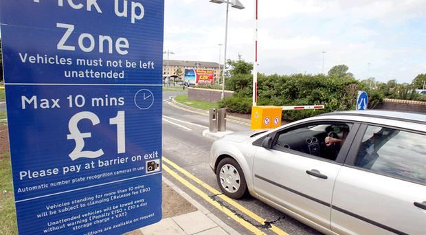 The new £1 fee for setting down and picking up passengers at Belfast International Airport has left users feeling angry and confused