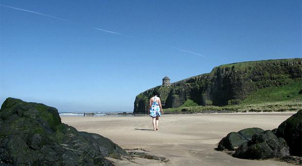 Mairead McGilloway took this picture of Benone Beach