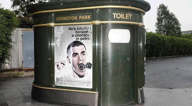 Criticism: Superloo in Omagh